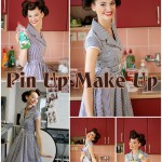 Pin-Up makeup